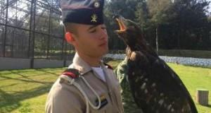 Cadete que cautivó las redes sociales tiene una gran pasión por las águilas