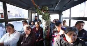 FOTOS: Primeros elementos de la Guardia Nacional en camiones y calles de Puebla