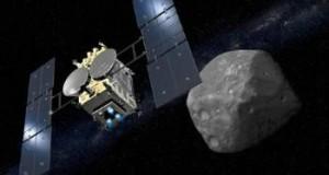 Japón crea cráter en asteroide para explorar nuestro Sistema Solar