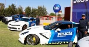Camaro, Covertte, Mustang y Cadillac, las nuevas patrullas de Guanajuato