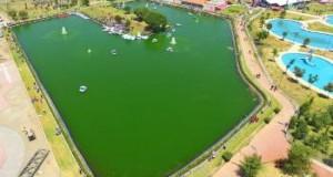 Este es el lago artificial inaugurado en Chimalhuacán, uno de los municipios más pobres de México