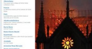 ¡Dedazo! Ex candidato a presidencia lamenta incendio en ''Norte Dame''