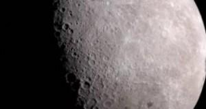 Impresionante fotografía de la Luna capturada con un teléfono inteligente
